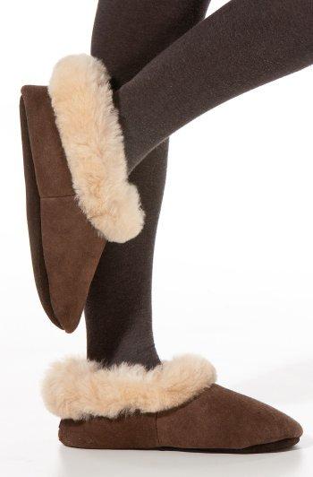 Pantoffels alpaca wol bont thermisch comfort