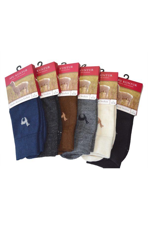 Apu kuntur alpaca wollen sokken