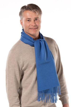 alpaca wollen shawl licht blauw